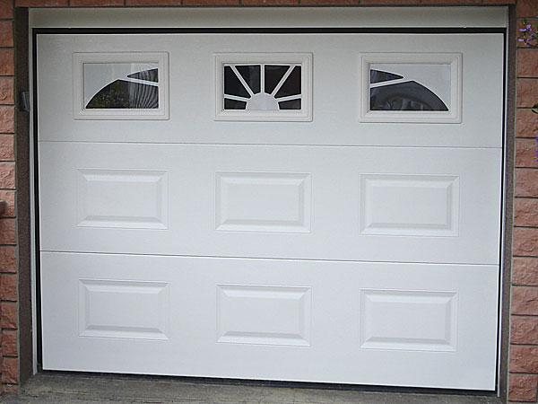 Conseil achat porte de garage sectionnelle motorisée